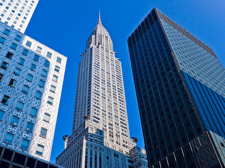 New York, New York City - Chrysler Building