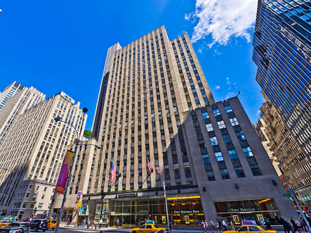 Regus Virtual Office, New York, New York City - Rockefeller Center