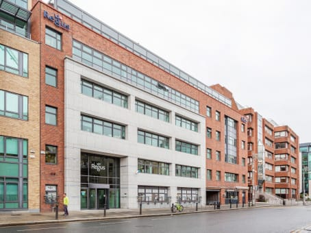Building at Regus House, Harcourt Centre, Harcourt Road in Dublin 1