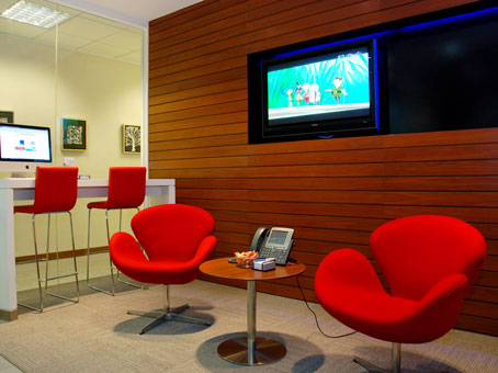 Regus Business Lounge in Hong Kong Millennium City 1