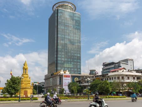 Regus Business Lounge in Phnom Penh, Canadia Bank Tower