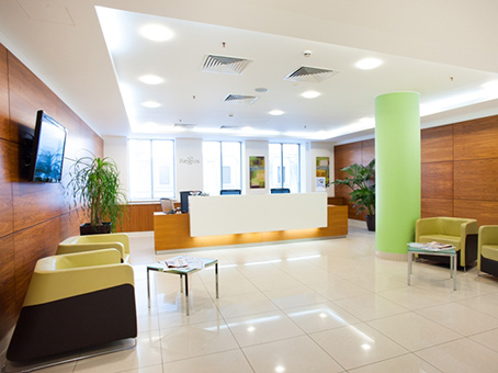Regus Business Lounge in Moscow Downtown Voentorg building