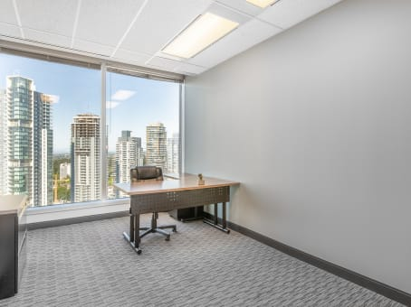 Regus Business Lounge in Metrotown