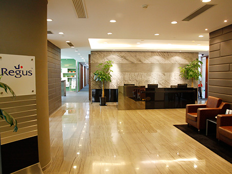 Regus Business Lounge in Shanghai Silver Court