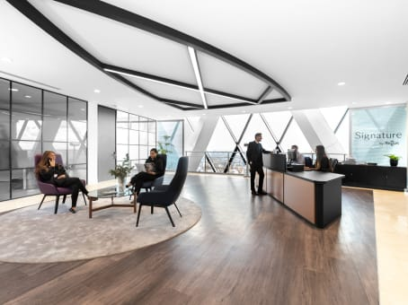 Regus Business Lounge in London St Mary Axe 28th & 29th Floors