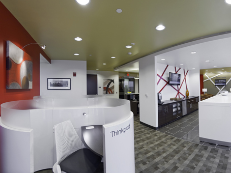 Regus Business Lounge in One West Court Square