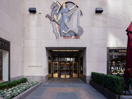 Regus Business Centre, New York, New York - One Rockefeller Plaza