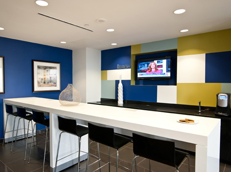 Regus Business Lounge in Bank of America Plaza