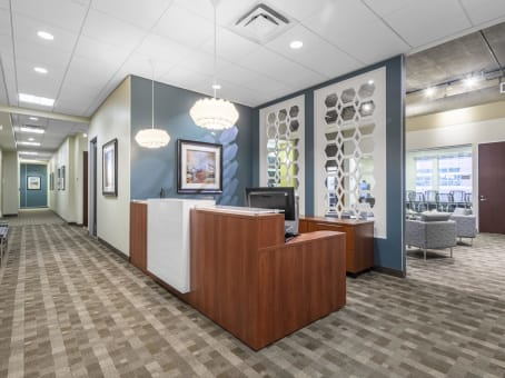 Regus Business Lounge in Downtown Sundance Square