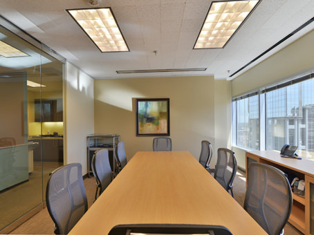 Regus Meeting Room in Downtown Wells Fargo Tower