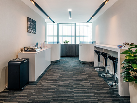 Regus Business Lounge in Singapore, Collyer Quay