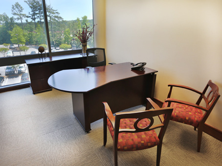 Regus Business Lounge in Chase Corporate Center