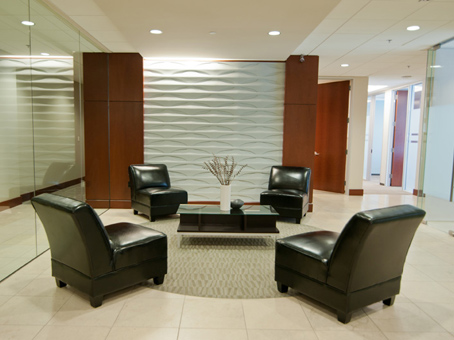 Regus Business Lounge in Cityscape