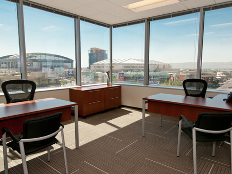 Regus Meeting Room in Cityscape