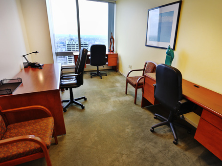 Regus Business Lounge in Gas Company Tower
