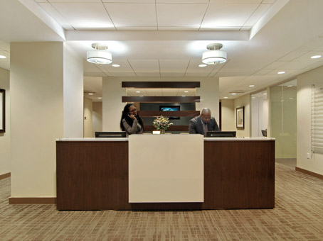 Regus Business Lounge in 750 Third Avenue