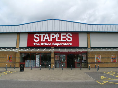 Swindon, Greenbridge Retail Park, Regus Express - Staples