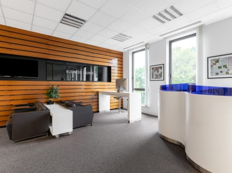 Regus Business Centre in Krakow, Fronton