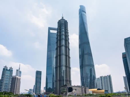 Meeting rooms at Shanghai Jin Mao Tower