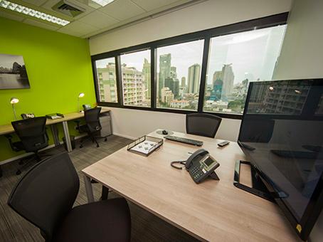 Regus Business Lounge in Bangkok Silom Complex
