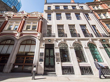 Building at 27 Austin Friars in London 1