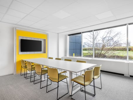 Regus Business Lounge in Brussels Airport