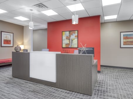 Regus Business Lounge in Landmark Center