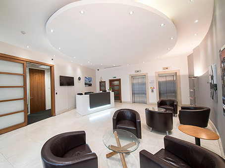 Regus Business Lounge in London, Hammersmith, Broadway