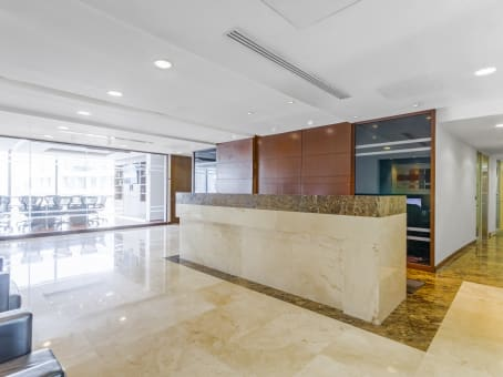 Regus Business Lounge in Mexico City, Terret Polanco