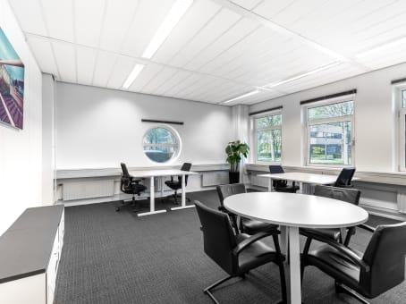 Regus Business Lounge in Schiphol Airport Tetra