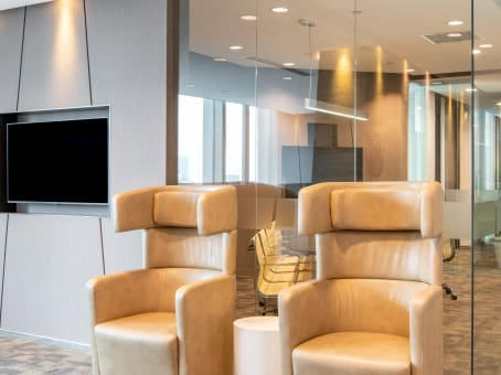 Regus Business Lounge in Beijing, Taikang Financial Tower