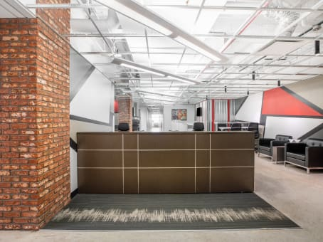 Regus Business Lounge in The Merchandise Mart