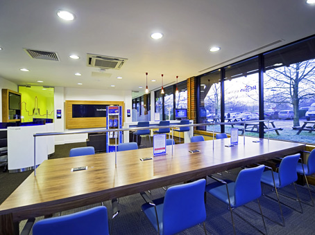 Westerham, Clacket Lane Services - Regus Express
