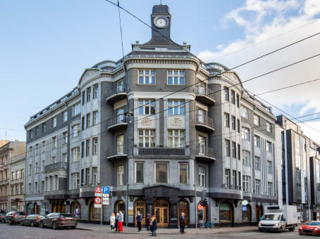 Building at 4th & 5th floors, 14 Terbatas street in Riga 1