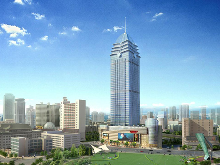 Building at 25/F, Hongdou International Plaza, No. 531 Zhongshan Road Chong'an District, Jiangsu Province in Wuxi 1