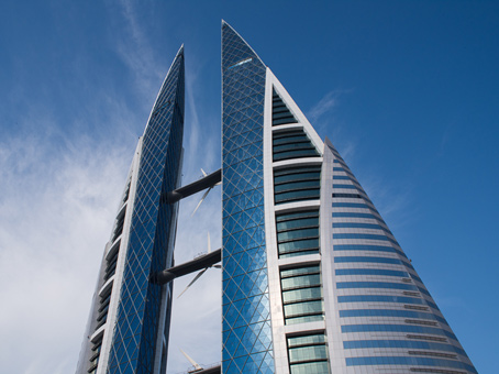 Building at Level 9, Bahrain World Trade Centre in Manama 1
