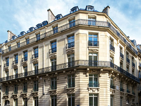 Building at 6 Rue Duret in Paris 1