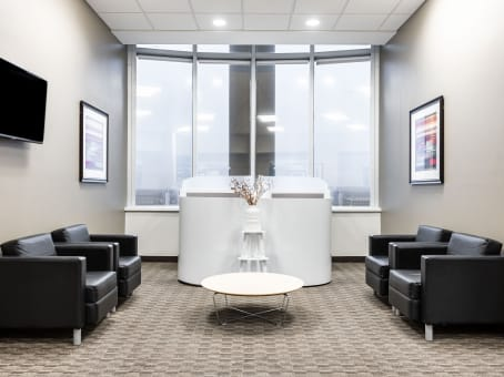 Regus Business Lounge in Downtown Bridgeport