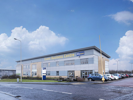 Kirkcaldy, John Smith Business Park (Evans Easyspace)