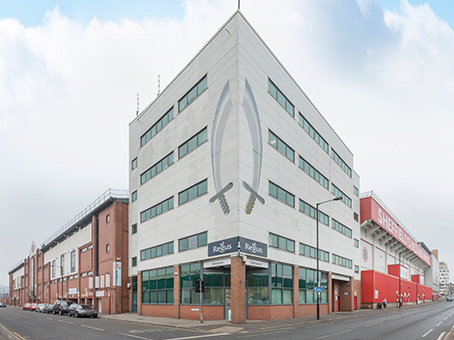 Building at Blades Enterprise Centre, John Street in Sheffield 1