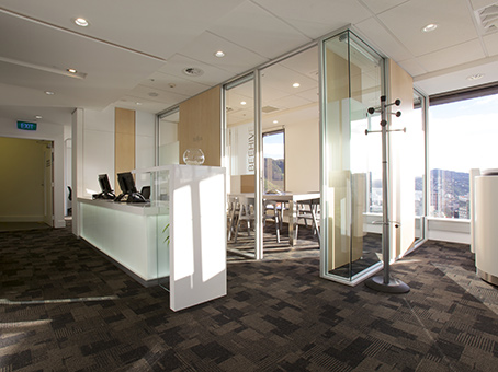 Regus Business Lounge in Wellington, Plimmer Towers