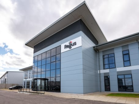 Regus Business Lounge in Aberdeen, Aberdeen Airport