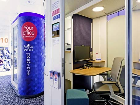 Gatwick North (airside), Regus Express Workpods 3 & 4