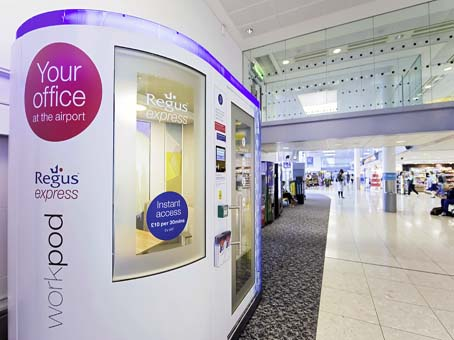 Regus Express, Gatwick North (airside) Workpods