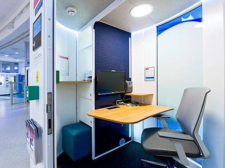 Gatwick South (airside), Regus Express Workpods 1 & 2