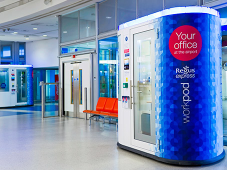 Regus Express, Gatwick South (airside) Workpods
