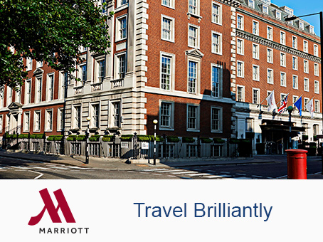 London, Marriott Hotel Grosvenor Square