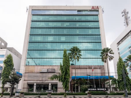 Building at Wisma Monex 9th floor, Jl. Asia Afrika 133 – 137 in Bandung 1
