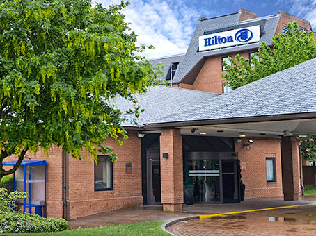Building at Hilton Hotel, Manchester Airport, Outwood Lane in Manchester 1