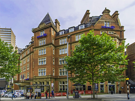 Building at Hilton Hotel, Milton Street in Nottingham 1